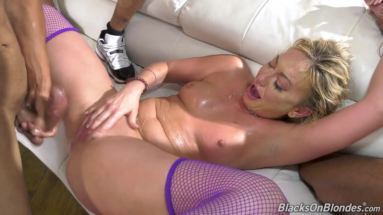 Adira Allure - Black On Blondes Second Appearance