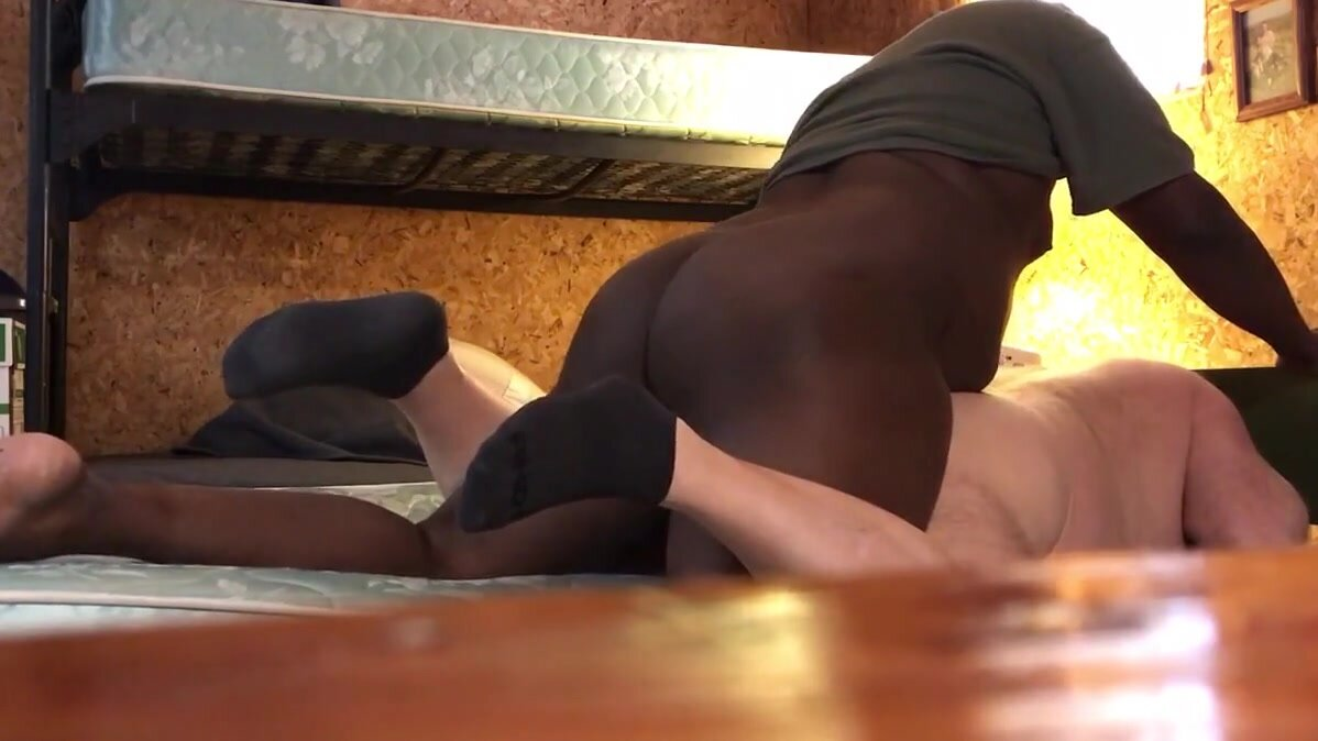 Daddy getting BBC cock and cum again. 3