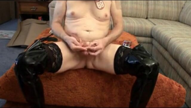 Luc's Sissy Slut Cock and Ball Torture 4